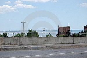 Sailing Ship On Horizon Royalty Free Stock Photos - Image: 18156548