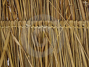 Texture Of Thatch Roof Stock Image - Image: 18163071