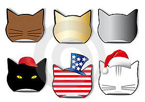Cat Royalty Free Stock Image - Image: 18164346