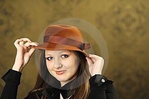 Nice Girl Royalty Free Stock Photography - Image: 18164977