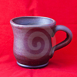 Clay Mug Royalty Free Stock Images - Image: 18167819