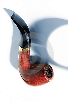 Tobacco-pipe Royalty Free Stock Photos - Image: 18168048