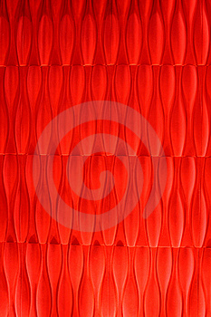 Vivid Vermilion Velvet Wallpaper Abstract Design Royalty Free Stock Photography - Image: 18175697