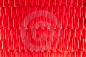 Vivid Vermilion Velvet Wallpaper Abstract Design Royalty Free Stock Images - Image: 18175799