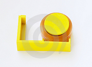 Adhesive Tape Cutter Stock Images - Image: 18182524