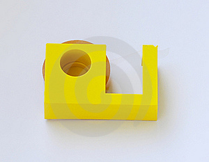 Adhesive Tape Cutter Royalty Free Stock Image - Image: 18182536