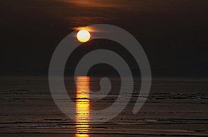 Sunset At Lake Balaton,Hungary Stock Image - Image: 18184251