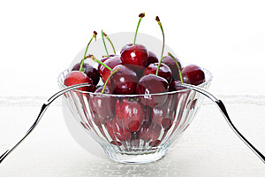 A Bowl Of Cherry Stock Image - Image: 18184311