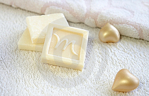 Olive Oil Soap For Bath And Spa Treatment Stock Photos - Image: 18184663