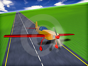 Sport Airplane Royalty Free Stock Images - Image: 18185589