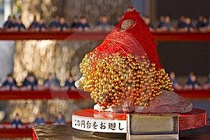 Japanese God Of Scholarship Tenjin Stock Photo - Image: 18187200