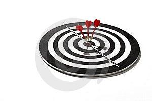 On Target Stock Image - Image: 18190361