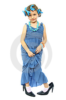 Cute Little Girl Stock Photos - Image: 18190443