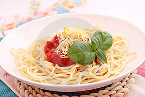 Spaghettis Royalty Free Stock Photography - Image: 18190907