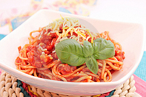 Spaghettis Royalty Free Stock Photography - Image: 18190927