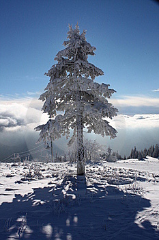 Winter Mountains Royalty Free Stock Image - Image: 18195026