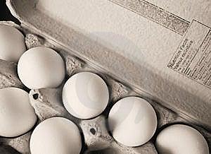 Eggs In Carton Royalty Free Stock Photos - Image: 18198408