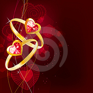 Two Gold Rings Royalty Free Stock Photos - Image: 18198848