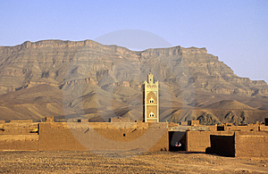 Moroccan Ksar Stock Images - Image: 1823794