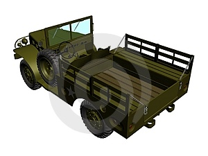 Army Car Stock Photos - Image: 1827053