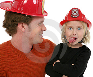 Little Fire Fighter Stock Photography - Image: 1828232