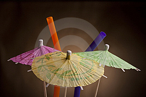 Paper Umbrella Royalty Free Stock Image - Image: 18200726