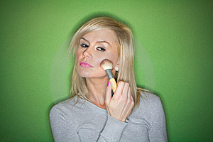 Blonde Woman Stock Images - Image: 18200784