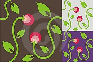 Abstract Background With Berries Stock Images - Image: 18201064