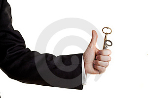 Key In Hand Royalty Free Stock Image - Image: 18201446