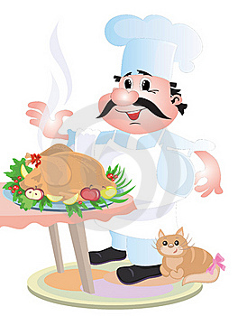 Cook Chef Stock Images - Image: 18201504