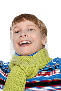 Portrait Of A Smiling Teenager Royalty Free Stock Photos - Image: 18202488