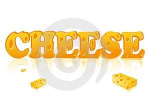 Word Cheese Stock Photos - Image: 18202543