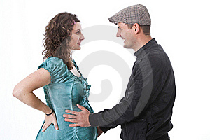 Happy Family, Parents Waiting For A Baby Royalty Free Stock Photos - Image: 18203188