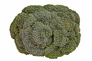 Broccoli Flower Closeup. Stock Image - Image: 18206331