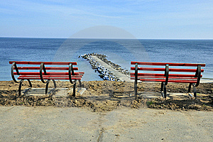 Resting Place On Sea Panorama Royalty Free Stock Photo - Image: 18206615