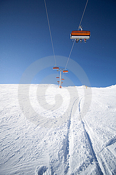 Chair Lift Stock Image - Image: 18217921