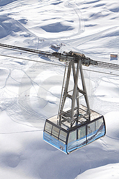 Cable-car In Alps Stock Photos - Image: 18220323
