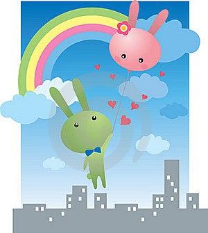 Rabbits Lover Stock Photo - Image: 18222230