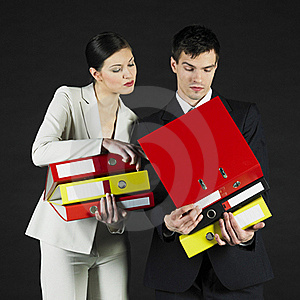Businesspeople Royalty Free Stock Photography - Image: 18223147