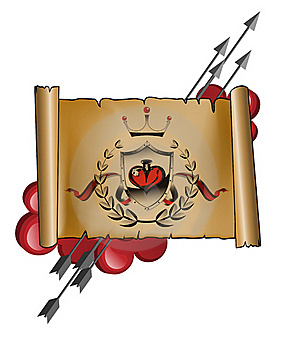 Map Of Love Stock Images - Image: 18223594