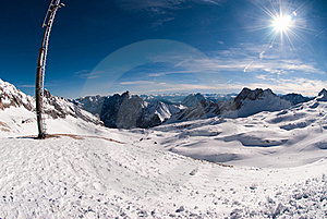 Winterlandscape In The Zugspitze, Germany Stock Photos - Image: 18225023