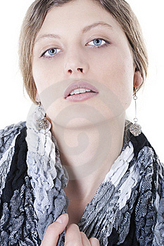 Sexy Model With Healthy Skin Stock Image - Image: 18226251