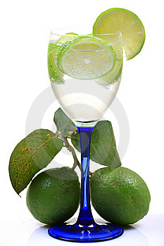 Fresh Lime Water Stock Photos - Image: 18227613