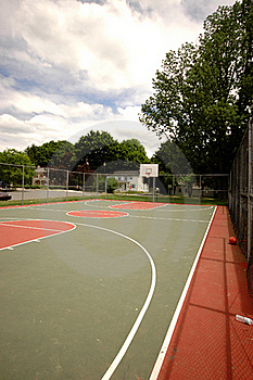 Basketball Court Stock Photography - Image: 18228822