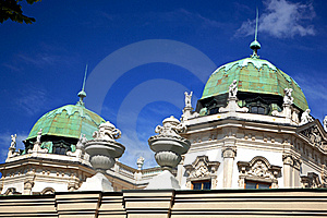 Details Of Belvedere Palace.Vienna Royalty Free Stock Photo - Image: 18230655