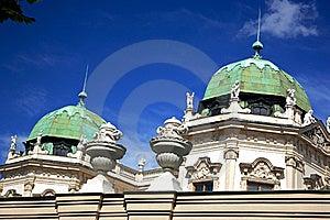 Detalle Del Belvedere Palace.Vienna Foto de archivo libre de regalías - Imagen: 18230655