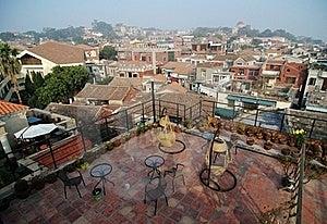 Views On Housetop Of Gulangyu Island Royalty Free Stock Photos - Image: 18231038