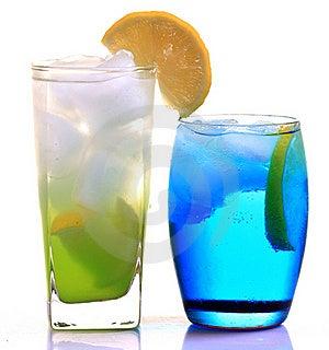 Lemon Slush And Iceberg Drink Royalty Free Stock Images - Image: 18232179