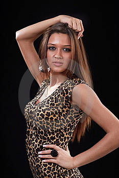 Woman Posing Royalty Free Stock Photography - Image: 18237537