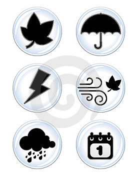 Weather Icon Royalty Free Stock Photo - Image: 18238135